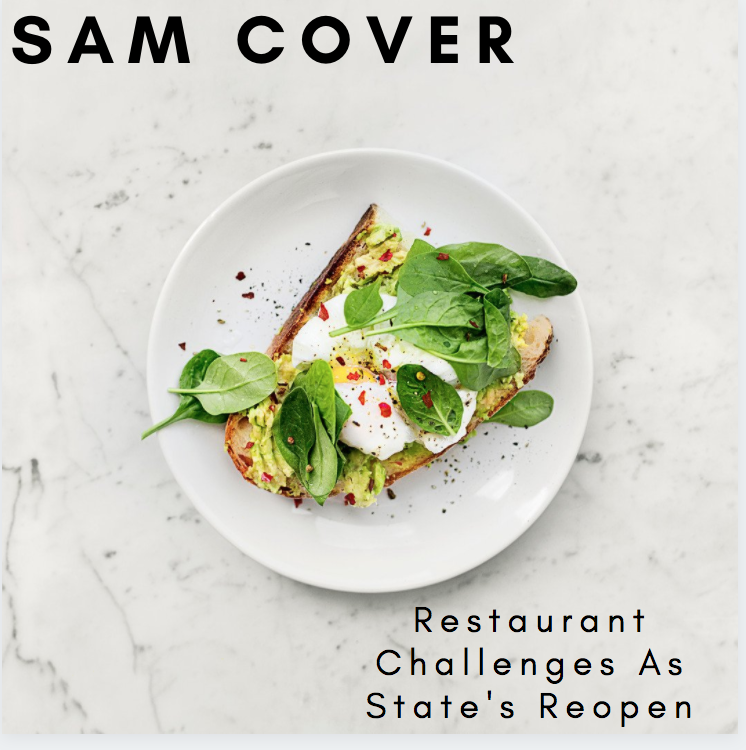 Sam Cover Spokane Washington Discusses State's Reopening and Challenges Restaurants Still Face
